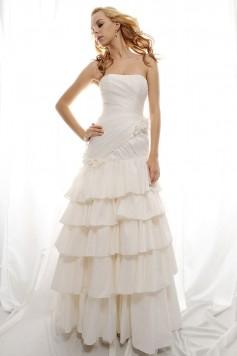 ウェディングドレス_二次会ドレス W7124