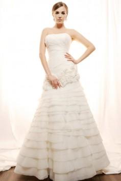 ウェディングドレス_二次会ドレス W7126