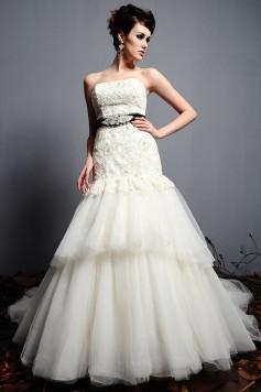 ウェディングドレス_二次会ドレス W7130