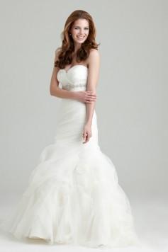ウェディングドレス_二次会ドレス W7206