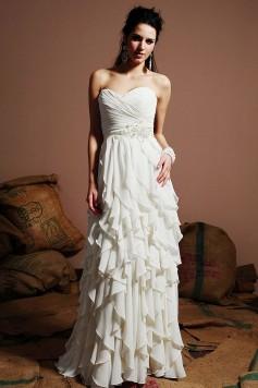 ウェディングドレス_二次会ドレス W7143