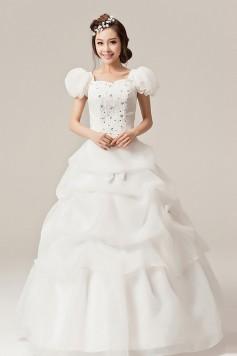 ウェディングドレス _二次会ドレス W1370
