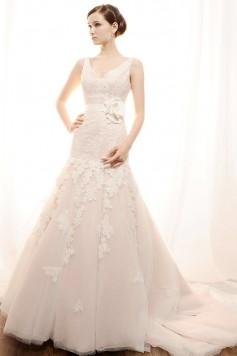 ウェディングドレス _二次会ドレス W7154
