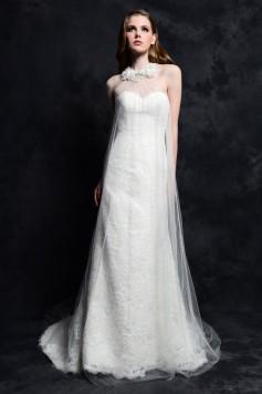 ウェディングドレス _二次会ドレス W7157
